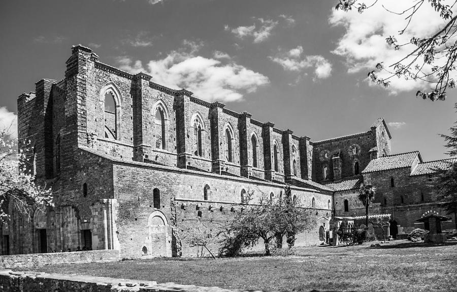Church Photograph - San Galgano Abbey by Ralf Kaiser