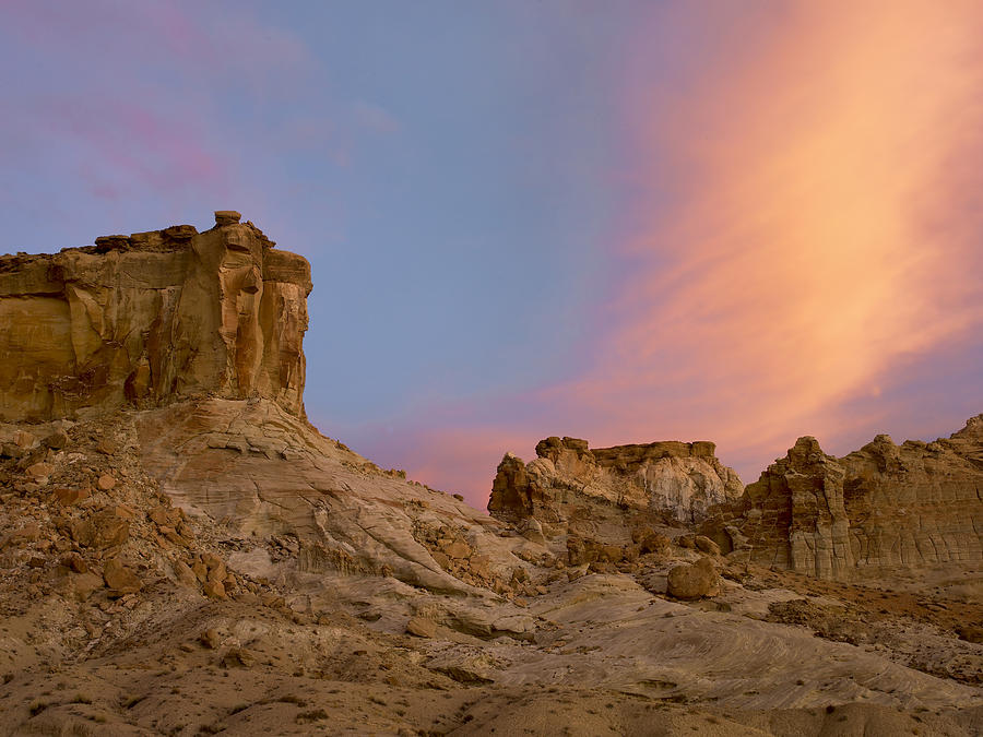 Sandstone Formations In Kaiparowits Photograph by Tim Fitzharris