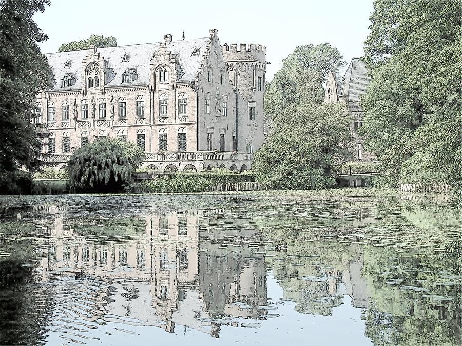 Europe Photograph - Schloss Paffendorf Germany by Joseph Hendrix