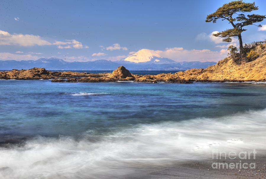 Ebb Photograph - Sea Side by Tad Kanazaki