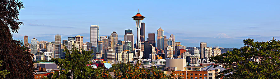 America Photograph - Seattle by Paul Fell