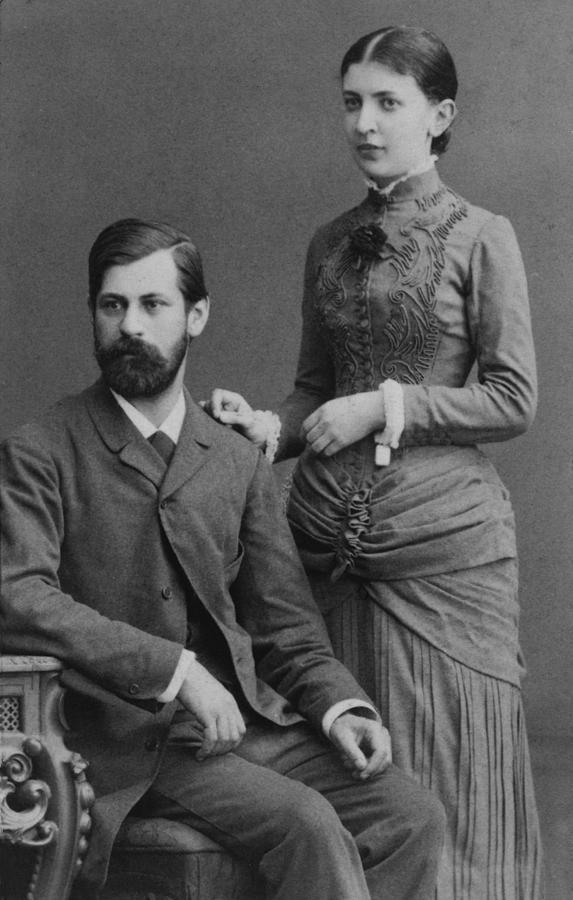 History Photograph - Sigmund Freud 1856-1939 by Everett