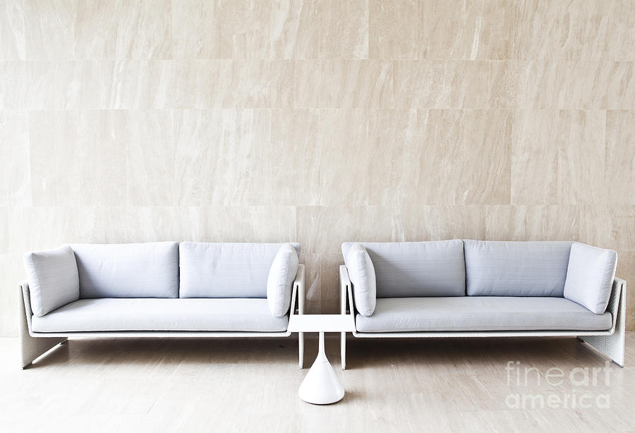 Background Photograph - 2 Sofas by Chavalit Kamolthamanon