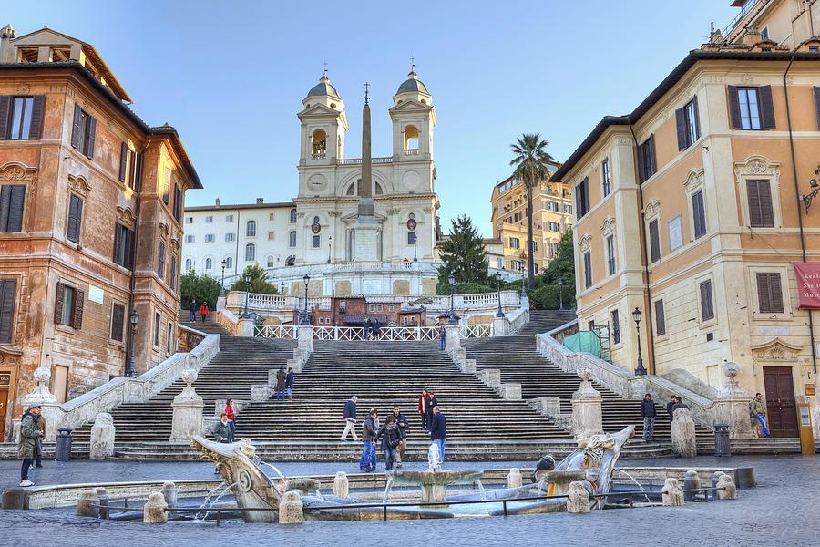 spanish steps in Rome Photograph by Joana Kruse