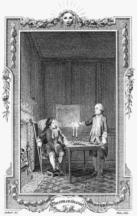 1781 Photograph - Sterne: Tristram Shandy by Granger