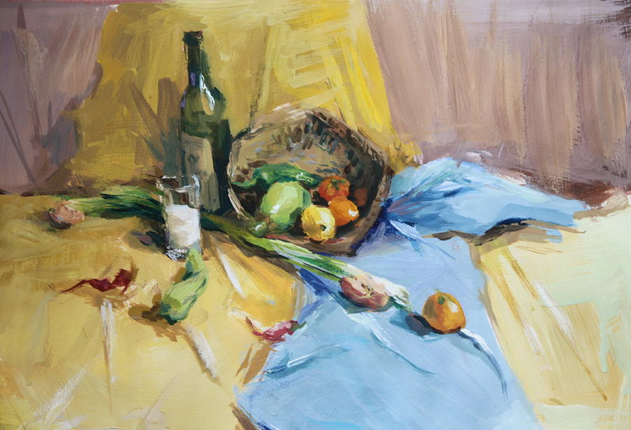 Still Life Painting by Hermine Wang