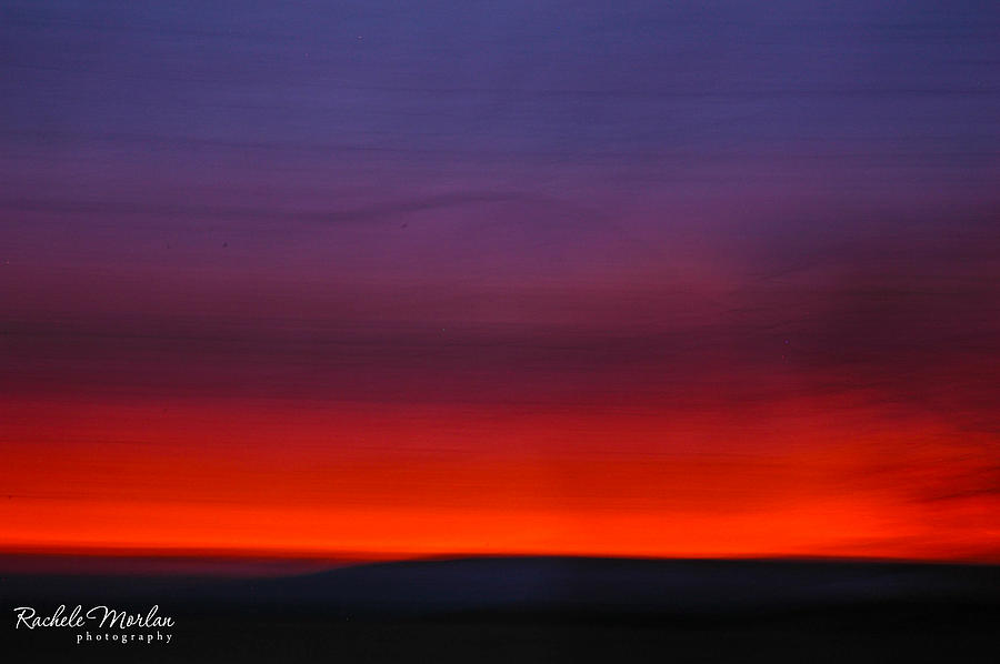 sunset colors photograph by rachele morlan