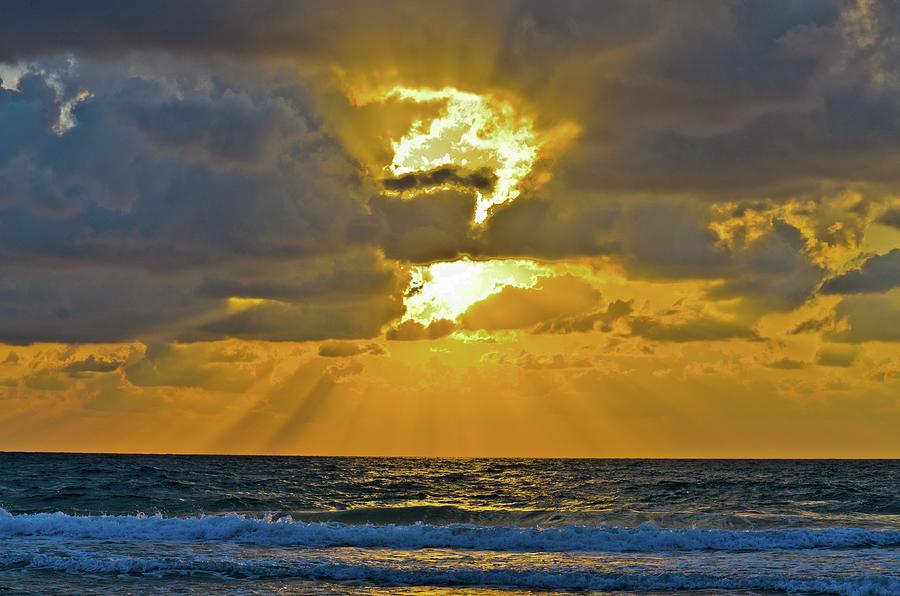 Blue Photograph - Sunset by Michael Goyberg