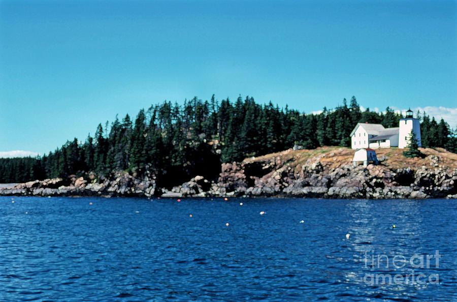 Usa Photograph - Swans Island Lighthouse by Thomas R Fletcher