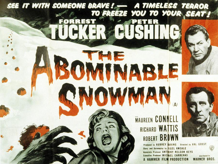 Movies Photograph - The Abominable Snowman, Aka The by Everett