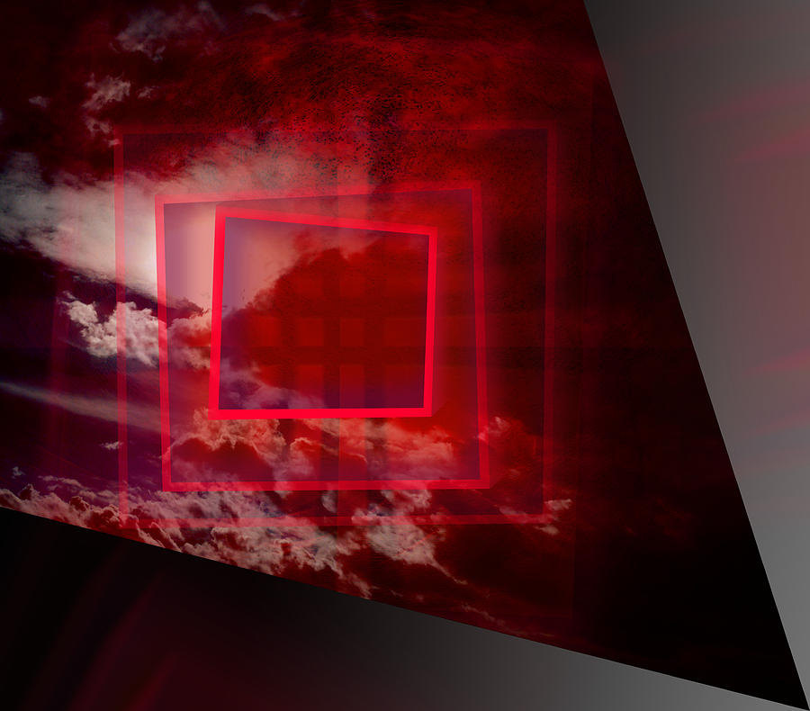 Abstract Digital Art - The Angle Of Heaven by Florin Birjoveanu