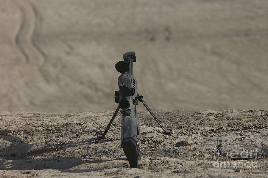 Kunduz Photograph - The Barrett M82a1 Sniper Rifle by Terry Moore