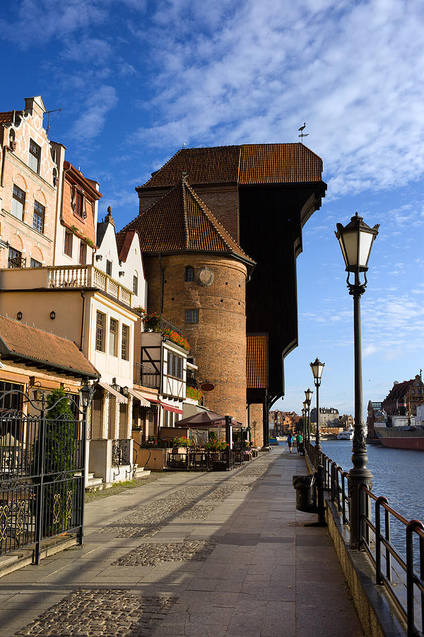 Apartment Photograph - The Crane In Gdansk by Artur Bogacki