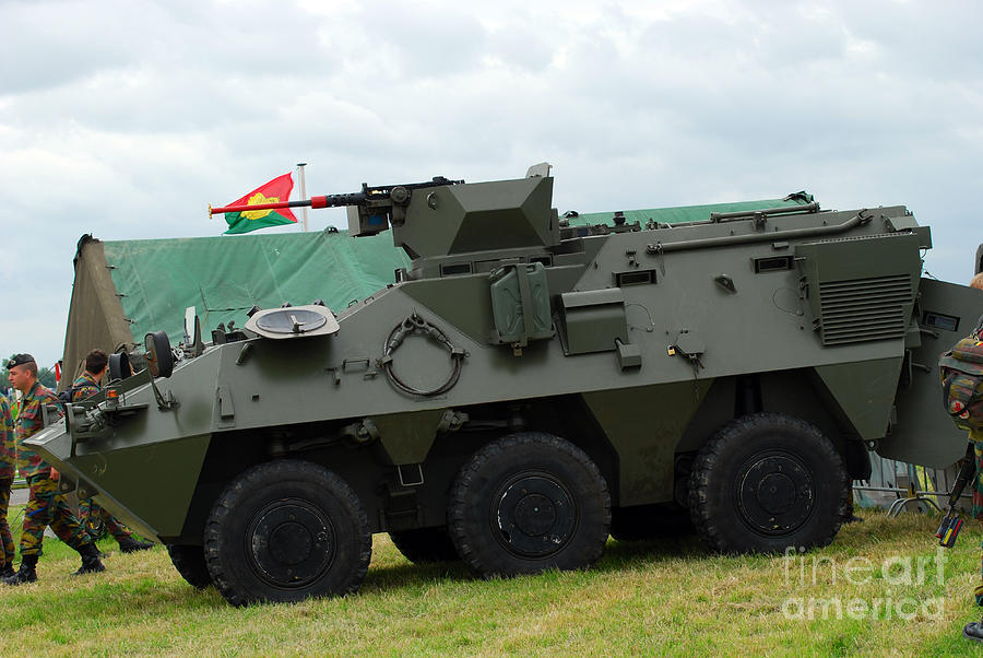12.7mm Photograph - The Pandur 6x6 Family Of Wheeled by Luc De Jaeger