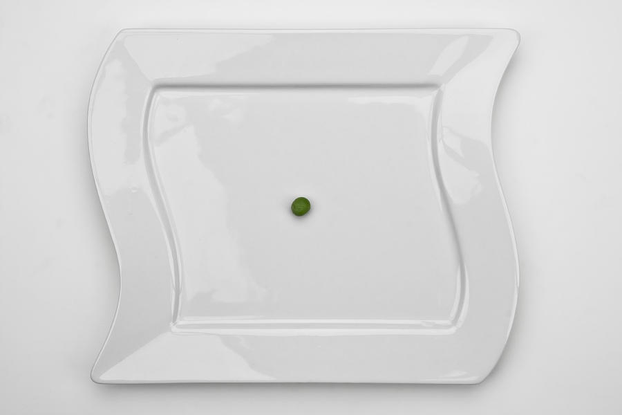 Green Photograph - The Pea by Joana Kruse