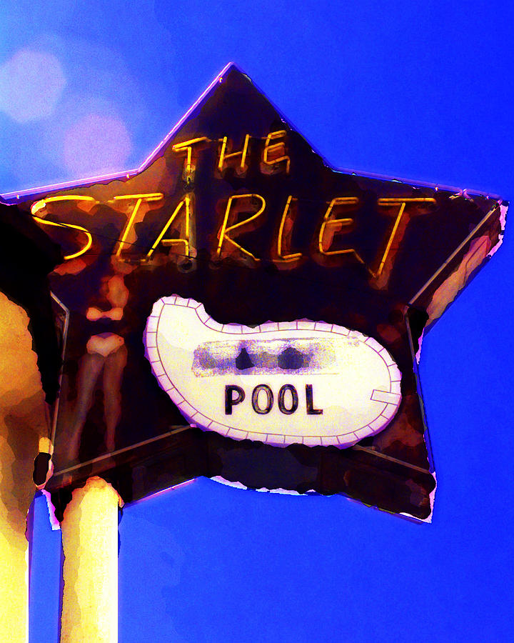 The Starlet Photograph - The Starlet by Ron Regalado