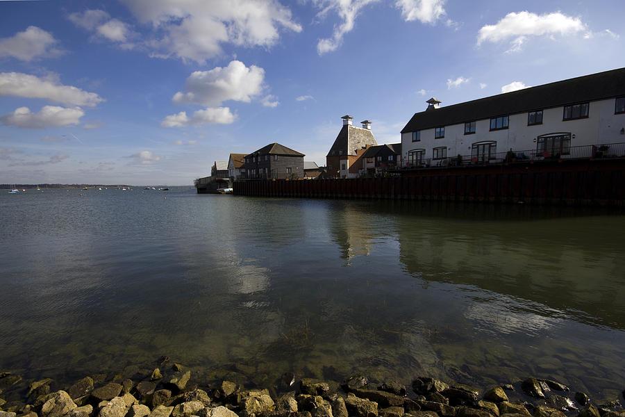 Stour Photograph - The Stour Estuary Manningtree Essex by Darren Burroughs