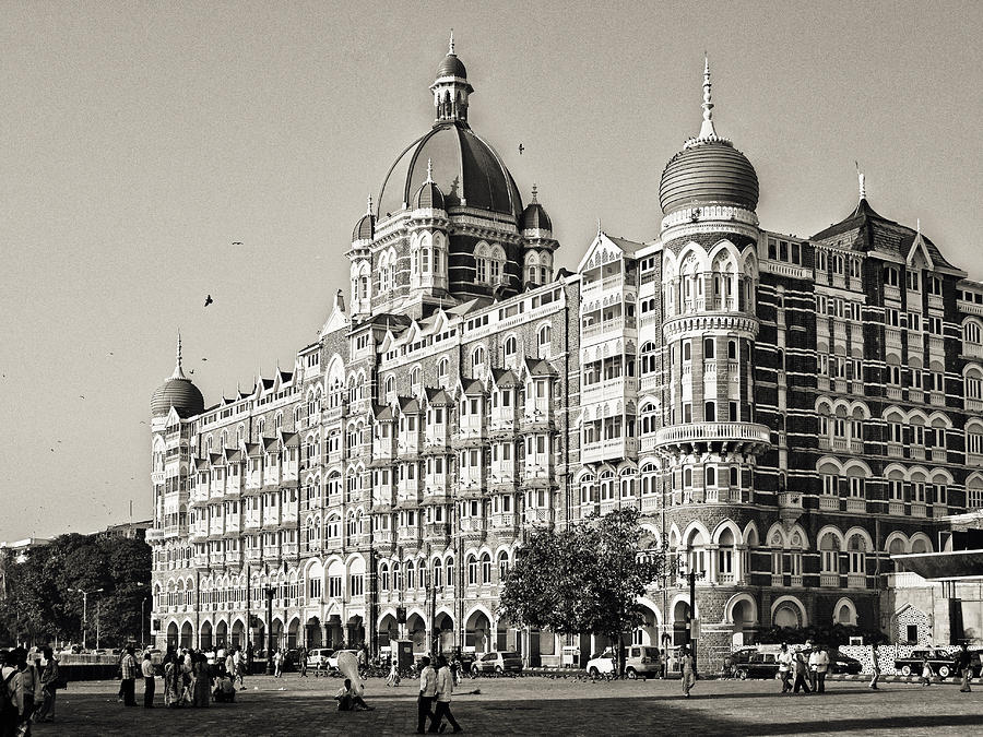 India Photograph - The Taj Mahal Palace Hotel by Benjamin Matthijs