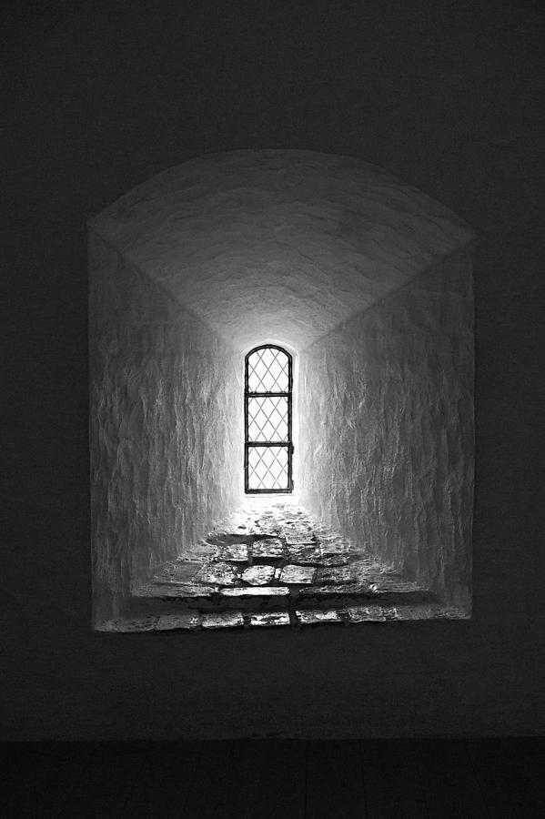 2012 Photograph - The Window Of The Castle Of Tavastehus by Jouko Lehto