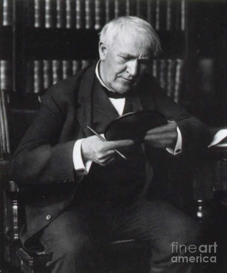 thomas edison and the production of electricity in the cities of america In the first public demonstration of his incandescent lightbulb, american inventor thomas alva edison lights up a street in menlo park, new jersey the pennsylvania railroad company ran special.
