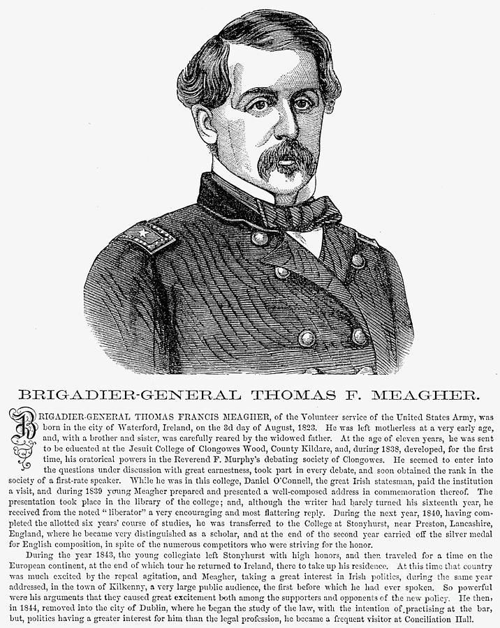 1865 Photograph - Thomas Francis Meagher by Granger