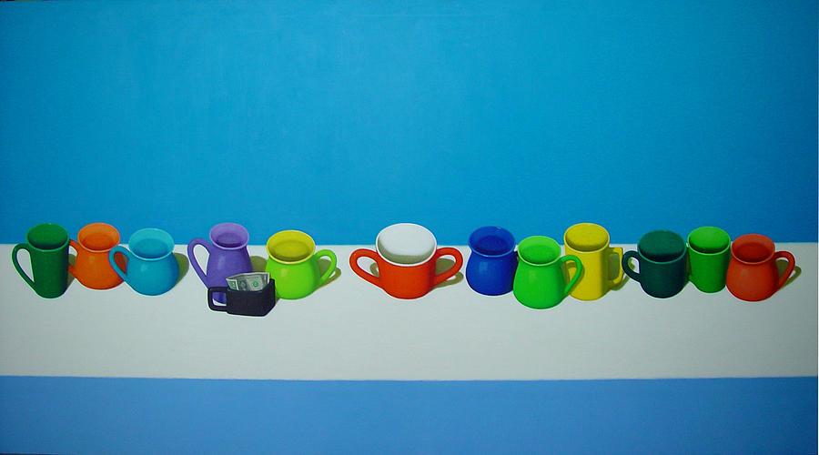Artist Painting - Tianzhongfengs Oilpainting by Zhongfeng Tian