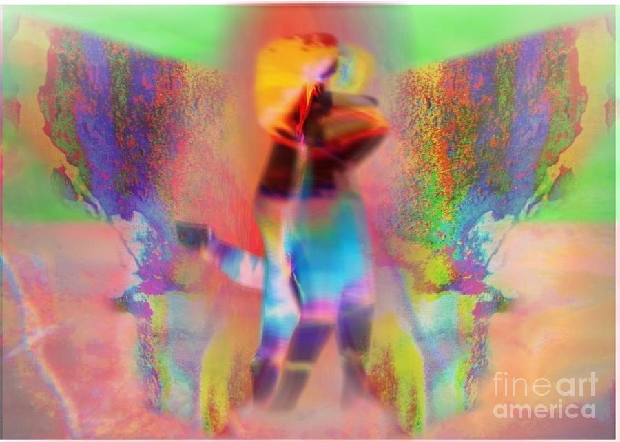 2 To Dance Digital Art by Will  Petralli