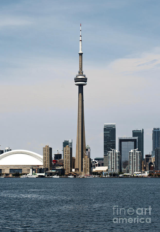 Toronto Photograph - Toronto skyline by Blink Images