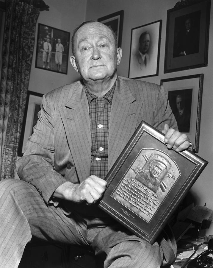 1957 Photograph - Ty Cobb (1886-1961) by Granger
