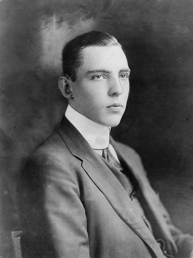 1910s Photograph - Vincent Astor 1891-1959, Late Husband by Everett