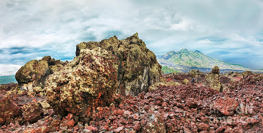 Volcano Photograph - Volcano Batur by MotHaiBaPhoto Prints