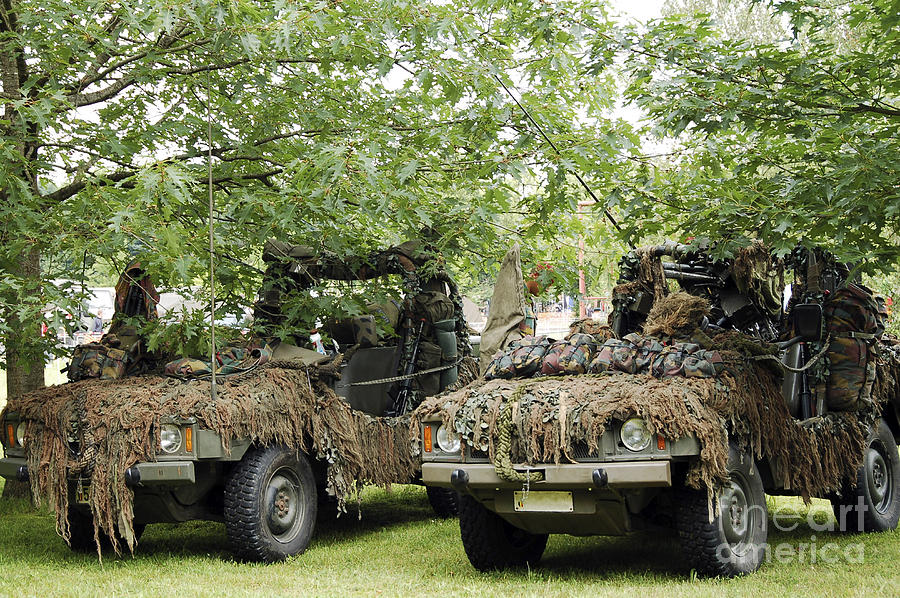 Belgium Photograph - Vw Iltis Jeeps Used By Scout Or Recce by Luc De Jaeger