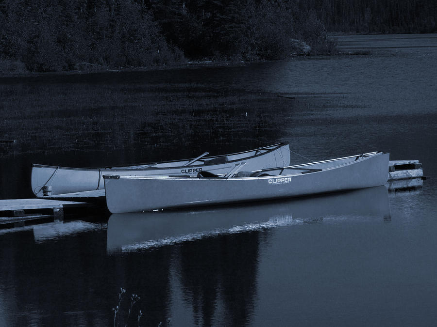 Canoe Photograph - Waiting by Andrea Arnold