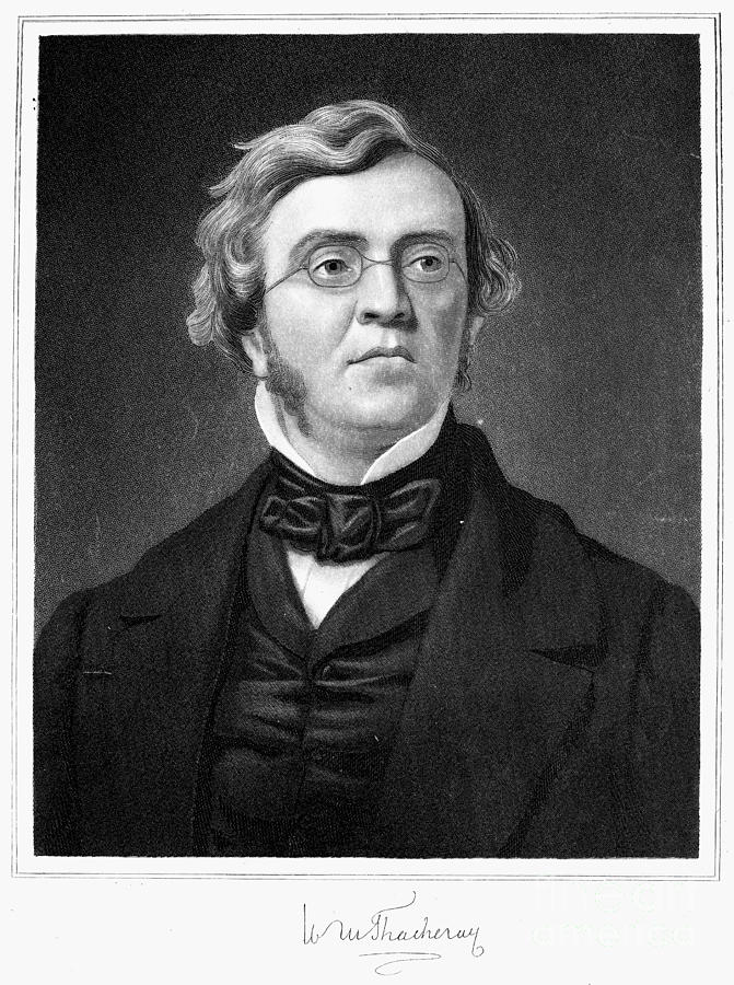 1853 Photograph - William M. Thackeray by Granger