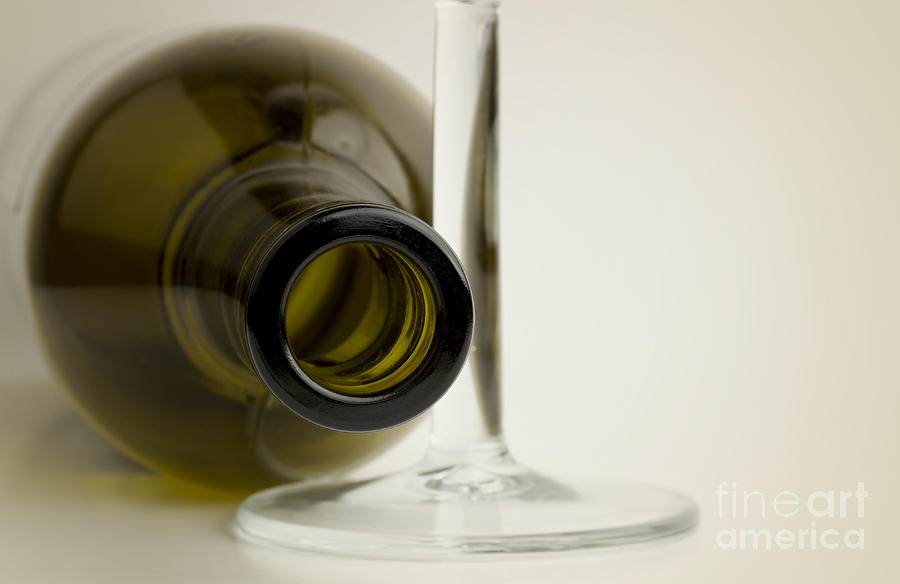 Bottle Photograph - Wine Bottle by Blink Images