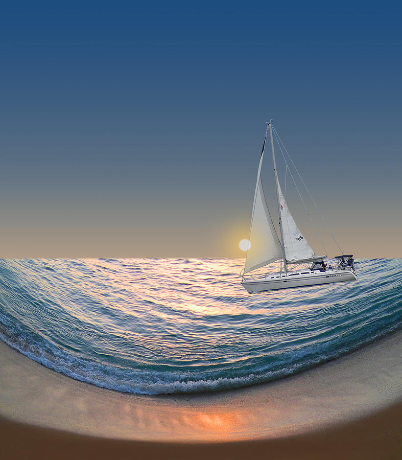 Boat Photograph - 2004 by Peter Holme III