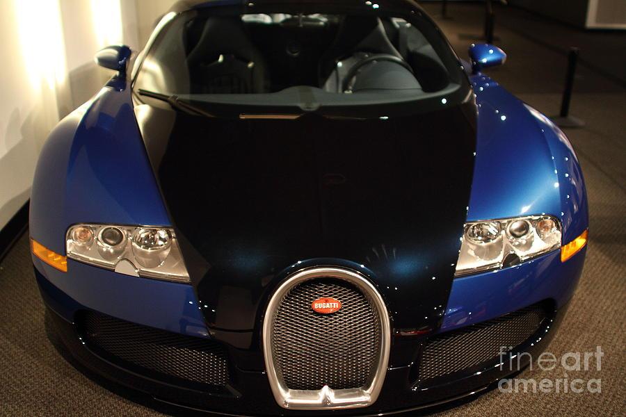 Transportation Photograph - 2006 Bugatti Veyron - 7d17276 by Wingsdomain Art and Photography