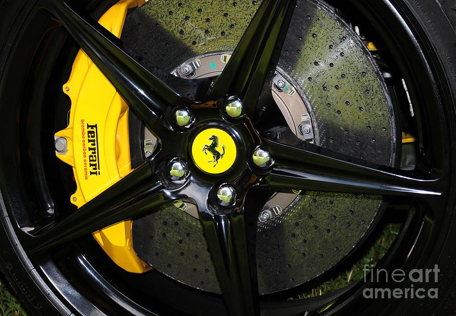 Ferrari 458 brakes