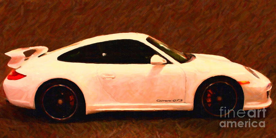Transportation Photograph - 2012 Porsche 911 Carrera Gts by Wingsdomain Art and Photography