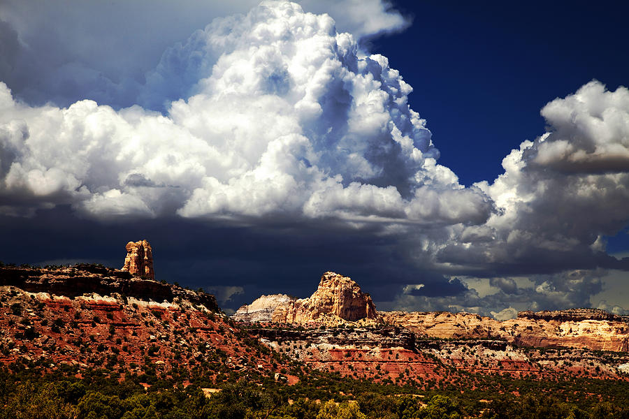 Southern Utah Photograph - San Rafael Swell by Mark Smith