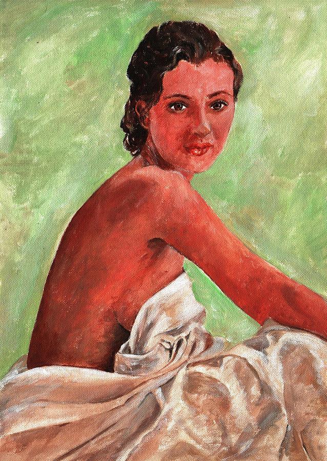 Washing Painting - Art by Marek Burbul