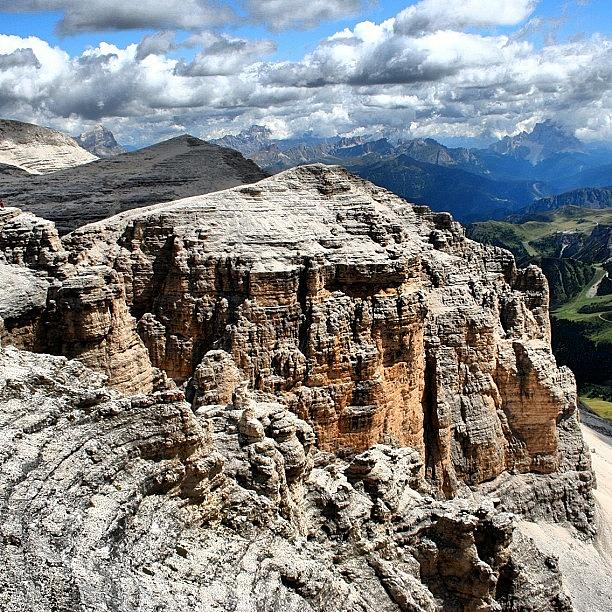 Beautiful Photograph - Dolomites by Luisa Azzolini