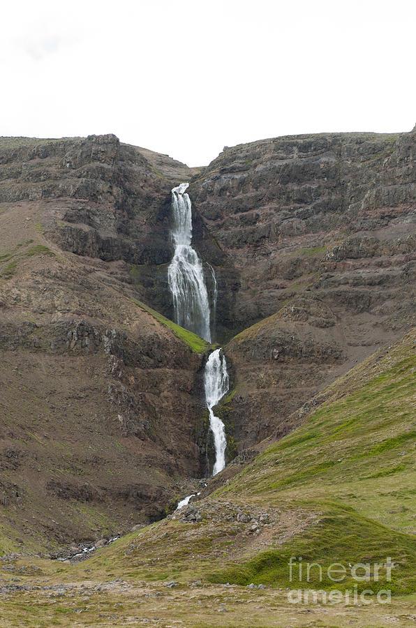 Waterfalls Photograph - Waterfall by Jorgen Norgaard