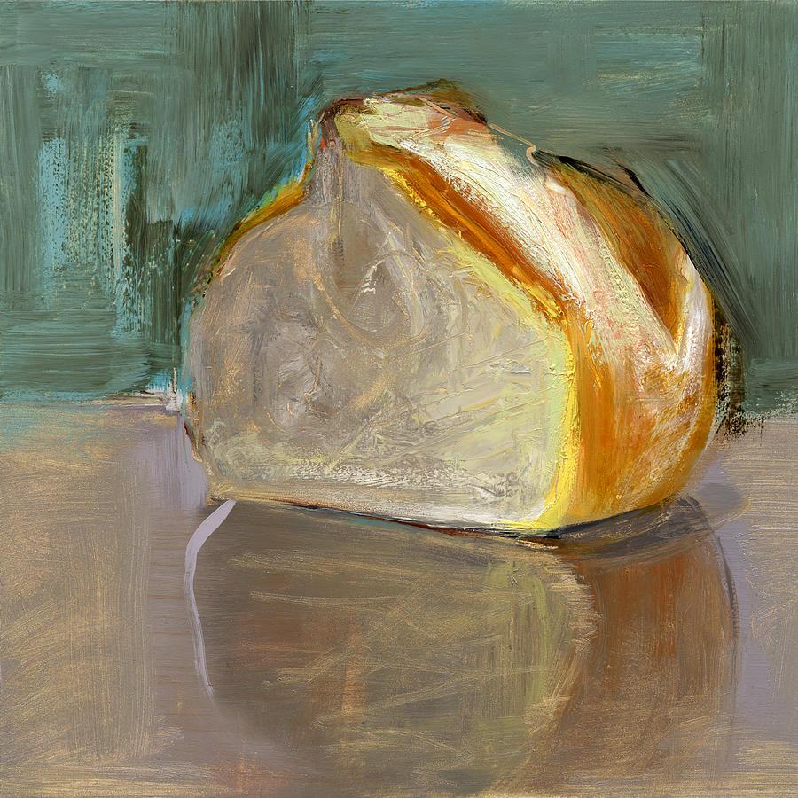 Bread Painting - Rcnpaintings.com by Chris N Rohrbach