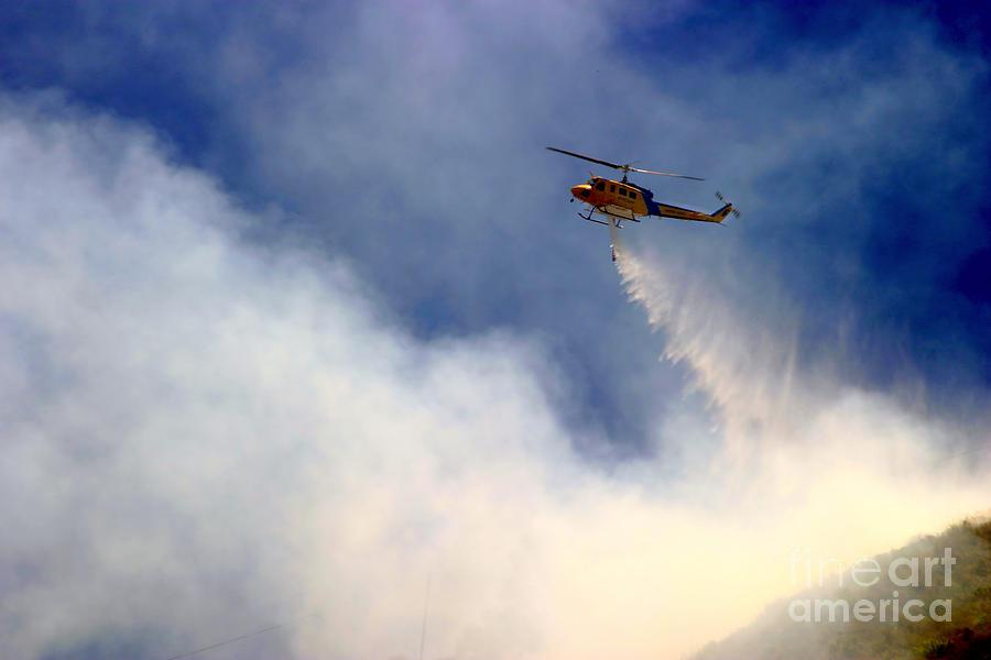 Ash Photograph - Barnett Fire by Henrik Lehnerer