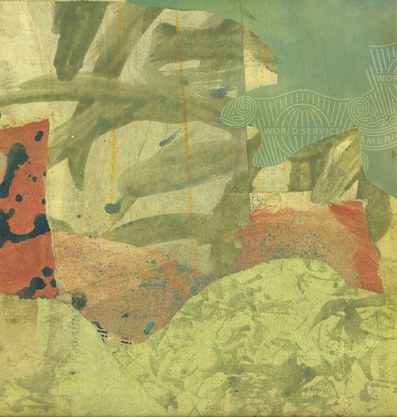 Green Mixed Media - Untitled by Alexandra Sheldon
