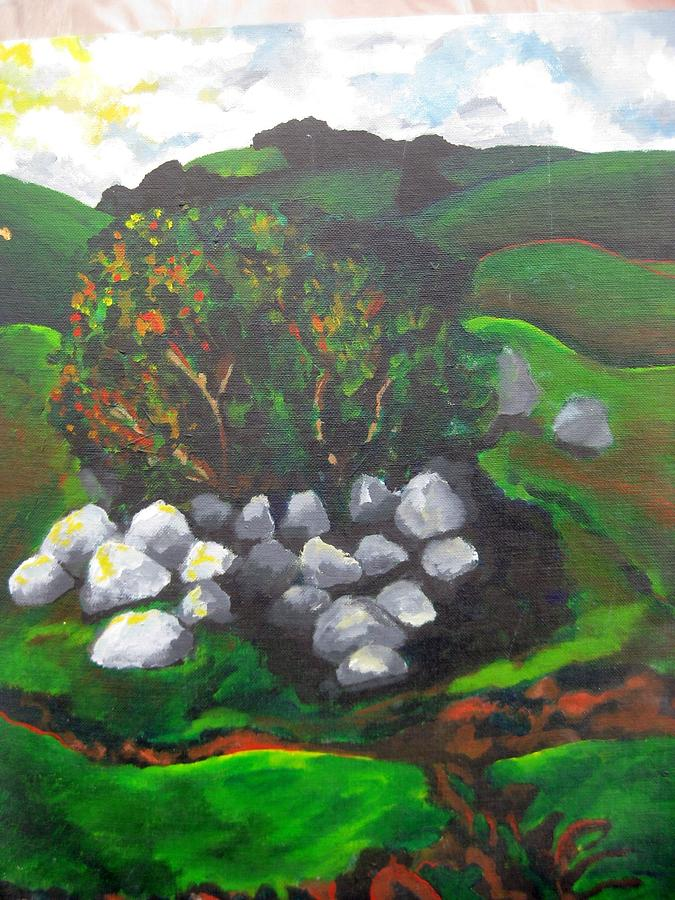 Spring Painting - Untitled by Iris Gill