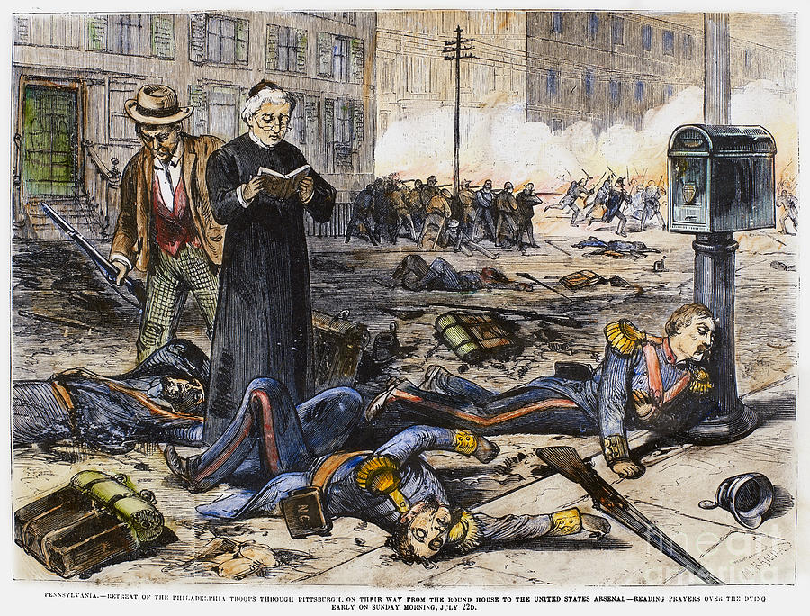the great railroad strike Free essay: the great railroad strike in the first half of the 19th century the working class in the newly industrializing american society suffered many.