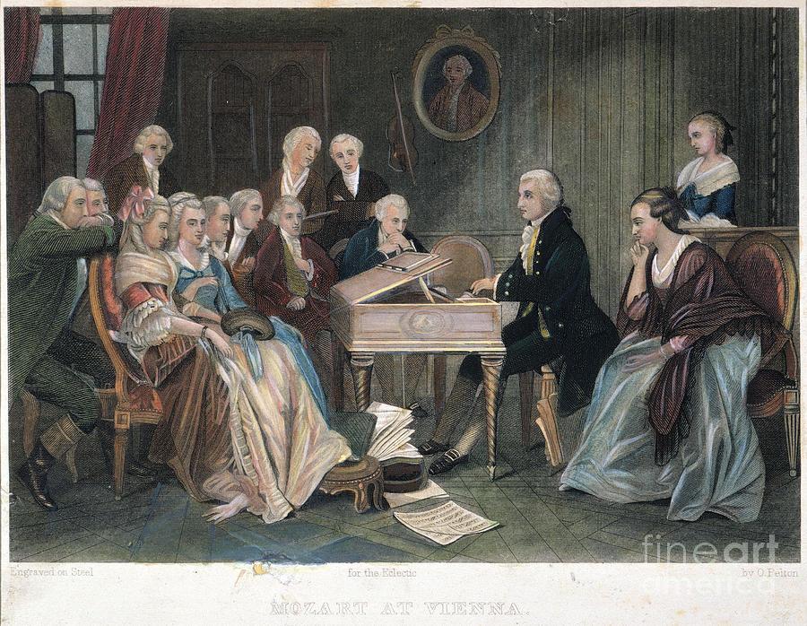 Wolfgang Amadeus Mozart by Granger