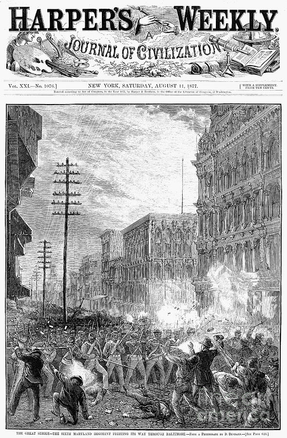 great railroad strike essay The great railroad strike which strike caused the creation of the national gaurd cut wages from railroad managements what caused the great railroad strike (considering the panic of 1873) violence what was the overall approach read more.